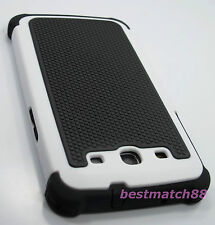 for Samsung galaxy s3 S III i9300 hard soft case black white triple layer rugged