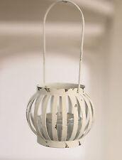 4 x Rustic Tea Light Hanging Lanterns Home Decor Homewares 16cms. BRAND NEW