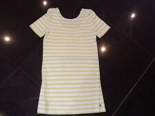 NWT Juicy Couture New & Genuine Girls Age 10 Green Striped Dress With Juicy Logo