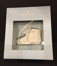 Wedgwood Christmas Ornament Baby Shoe England Collectible