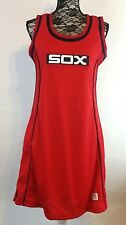Cooperstown Collection Womens S M L XL Chicago White SOX Jersey Tank Dress Red