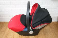 Silver Cross Simplicity baby car seat red and black group 0+ birth - 13 kg