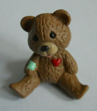 Vintage Hallmark Merry Miniature Teddy Bear with Bandage on Arm Figurine
