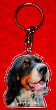 porte-cles chien setter anglais 5 dog keychain llavero perro schlusselring hund