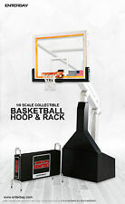 NBA COLLECTION:BASKETBALL HOOP&RACK MOTION MASTERPIECE 1/9 Accessory 8″ ENTERBAY