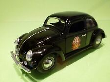 CHINA  VW VOLKSWAGEN BEETLE OVAL - 40 JAAR OPEN DOORS KERK - BLACK 1:24 - GC