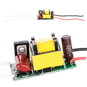 HL 4W 5W 7W LED Chip Driver Dimmable Power Supply 300 mA For LED Lights 110V 12V