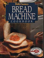 Bread Machine Cookbook Betty Crocker Recipes Jam Preserves Cooking Cookery Cook