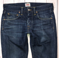Mens EDWIN ED-55 Jeans W30 L32 Blue Regular Tapered Fit