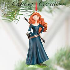 2012 Disney Store Princess Merida Brave Sketchbook Ornament Christmas Bow Arrows