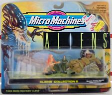 1996 Galoob Micro Machines Aliens Collection 2 Mini Action figures NOS FREE Ship