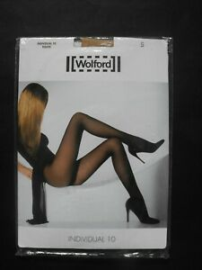 Wolford Individual 10 Tights size S style 183 82 new sealed