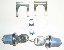 1962-1964 Chevy Impala Door Lock Cylinders ( 2 Door )With Keys  NEW