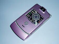 Motorola Razr V3m Cell Flip Phone Pink Shell / Case / Housing (Verizon)