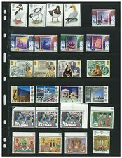 Great Britain 1982-1992 Commemorative Collection of 129 Mnh Stamps