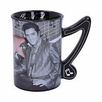 Elvis Presley with Pink Cadillac Drinking Mug