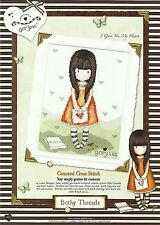 BOTHY THREADS GORJUSS I GAVE YOU MY HEART COUNTED CROSS STITCH KIT - NEW
