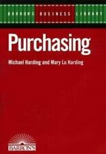 Barron's Business Library: Purchasing by Michael Harding and Mary L. Harding (1…