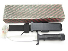 VTG RESQVIVAL SEKI JAPAN SURVIVAL EXPLORER RAMBO FIXED COMBAT BOWIE KNIFE