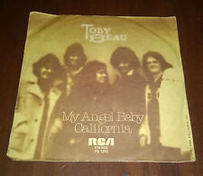 "Toby Beau 45 Giri "" MY ANGEL BABY-CALIFORNIA "" RCA"