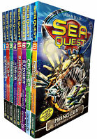 Sea Quest Series 1 and 2 By Adam Blade 8 Books Set Collection - Mangler, Crusher