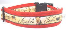 "Hundehalsband ""Airdale Terrier"", L 50-55 cm Halsumfang"