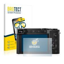Schutzfolie Transparent für Panasonic Lumix DMC-TZ101 Klar Displayschutzfolie