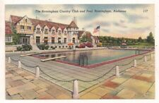 The Birmingham Country Club and Pool, Birmingham AL Jefferson Postcard 092317