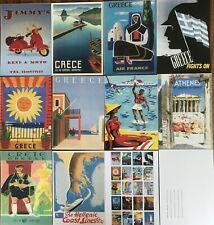 20 vintage travel images of Greece on quality postcards