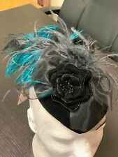 New listing Woman's Reenacting Victorian Old West, Peacock Decorated Hat Edwardian, Western