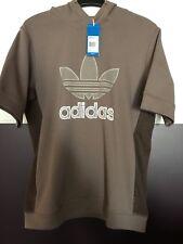 adidas Originals ADI Kurzarm Sleeve Crew Sweatshirt Kapuzenpullover Gr-M Neu