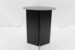 Hay Slit Table High Ø 35 x 47 cm schwarz Beistelltisch Tisch Metall Stahl