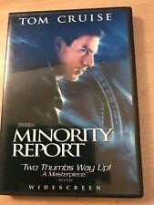 Minority Report Tom Cruise Widescreen Edition Dvd