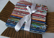 New listing Lot of 105 Pieces Quilting Cotton Fabric Fat Quarters in Med Flat Rate Box