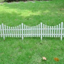 17x Garden Yard Fence Boarder 32.8ft Fencing Edging Picket Lawn Panel 3 Colors