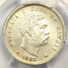 1883 Hawaii Dime (Ten Cents, 10C) - PCGS XF Details (EF) - Rare Certified Coin