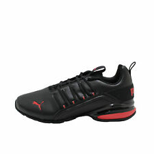 PUMA Axelion Perf Black / Red Men's Athletic Training Sneakers 19355504