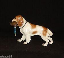 """Rosenthal Porzellan Figur """"Jagdhund mit Beute"""" Hund"""