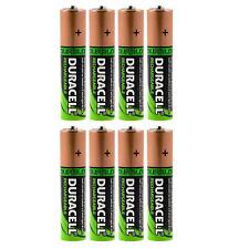 8x Duracell AA HR06 2450 mAh Capacité Duralock NiMh AA Rechargeable Batteries