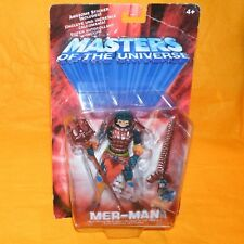 2001 MODERN SERIES MOTU HE-MAN MASTERS OF THE UNIVERSE MER-MAN FIGURE MOC CARDED
