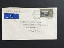 TRINIDAD 1939 24c ON COVER AIR MAIL TO USA