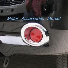 Chrome Rear Fog Light Lamp Cover Trim For Toyota Highlander 2008 2009 2010