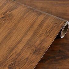 Retro Wood Contact Paper Self Adhesive Shelf Liner Drawer Furniture Sticker
