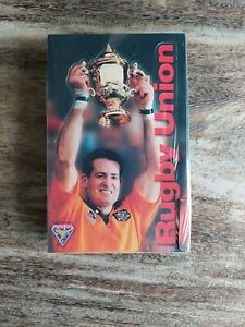 1995 Futera unopened sealed box of Rugby Union cards