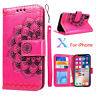Flip Wallet PU Leather Bag Cover Phone Cases For Apple iPhone X 7/8/6/6s Plus