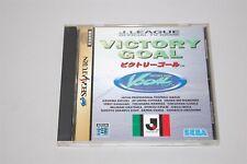 Victory Goal Japan Sega Saturn Game