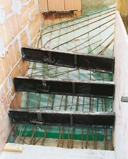 Luftkissen-Gitterfolie 1,5 x 25 m z. Treppenschalung, Unterschalung, Betontreppe