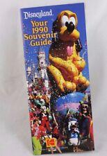 Vintage Disney Disneyland Your 1990 Souvenir Guide 35 Years of Magic!