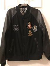 Rare Crooks and Castles Embroidered Varsity Jacket