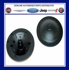 Fiat 500 / Abarth Top Shock Absorber Mount Nut Cover Caps Genuine 2 x 51938656